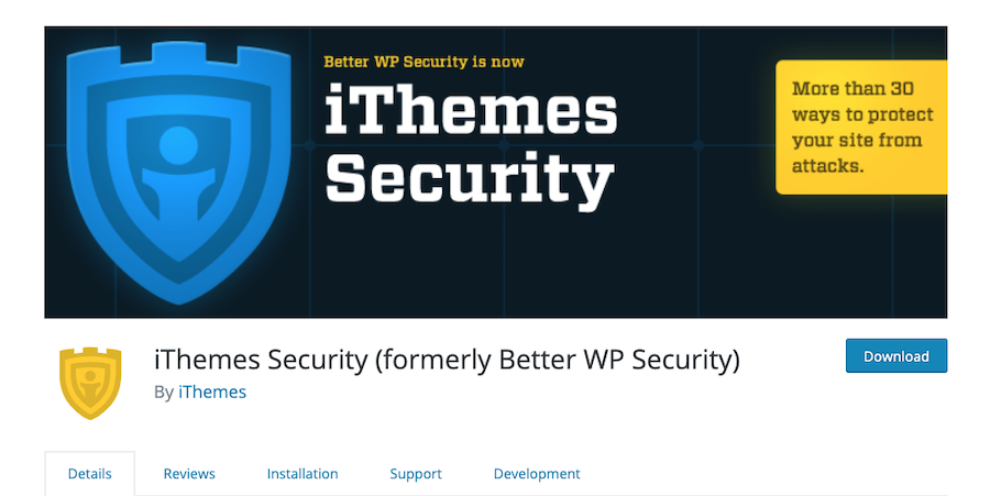how to start a blog and install iThemes Security