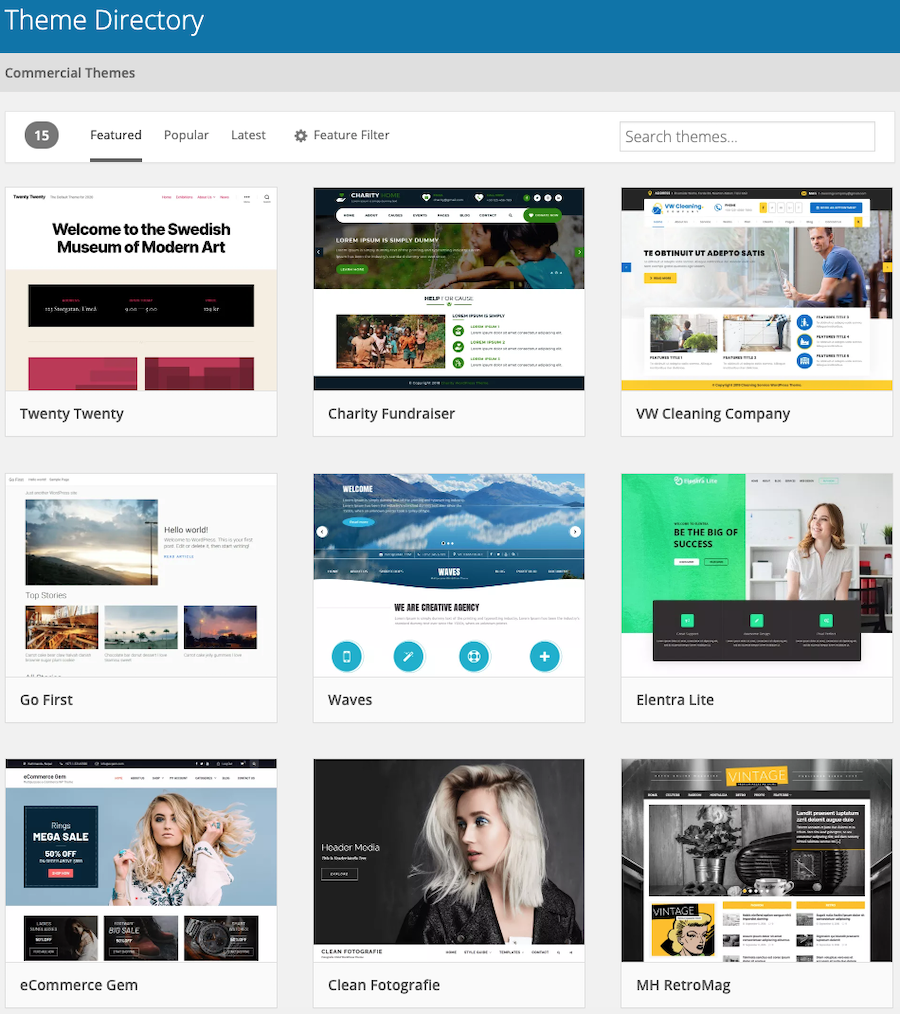 how to start a WordPress blog with a free theme