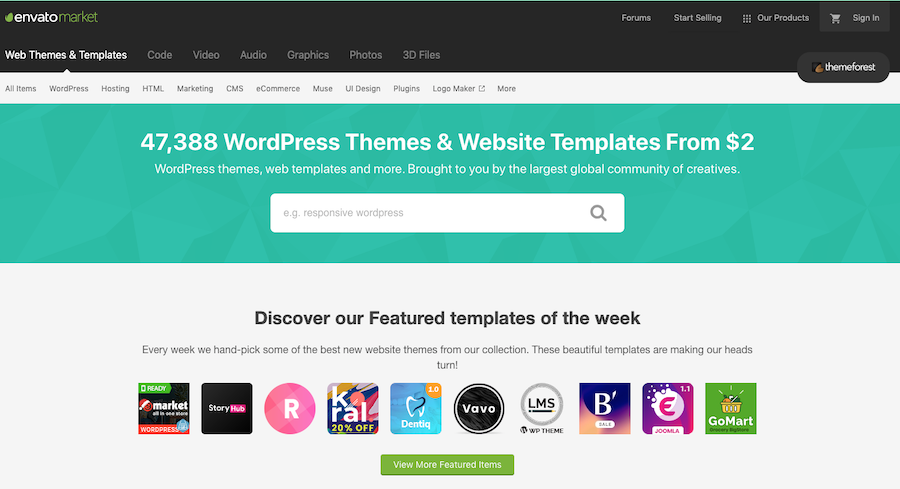 how to start a WordPress blog with a premium paid theme