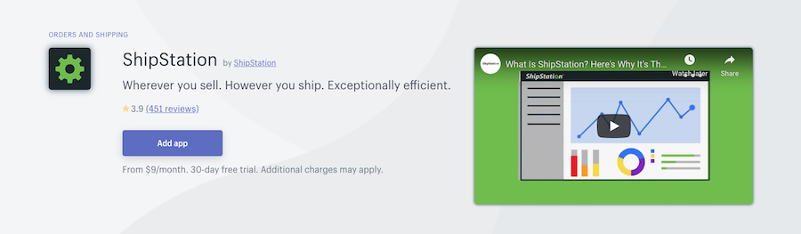 ShipStation Shopify app review